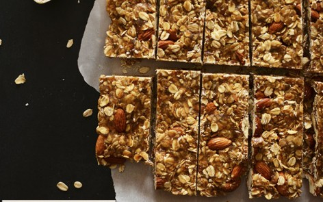 Healthy-5-Ingredient-Granola-Bars